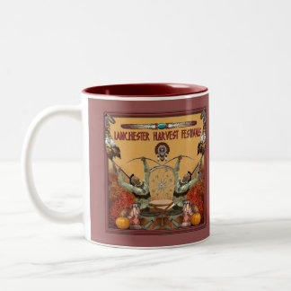Lanchester Harvest Festivals and PowWow Two-Tone Coffee Mug