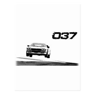 Lancia 037 postcard
