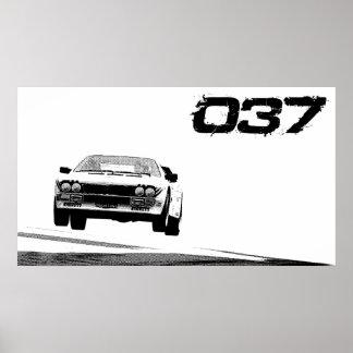 Lancia 037 Poster
