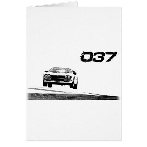 Lancia 037 tarjetón