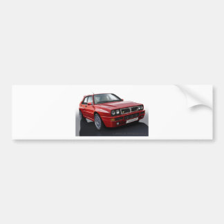 Lancia Integrale Bumper Sticker
