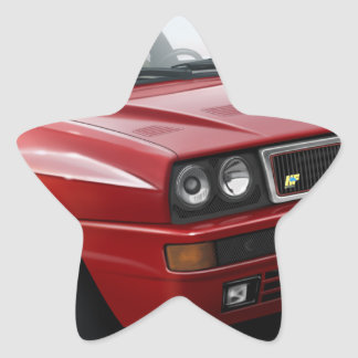 Lancia Integrale Star Sticker