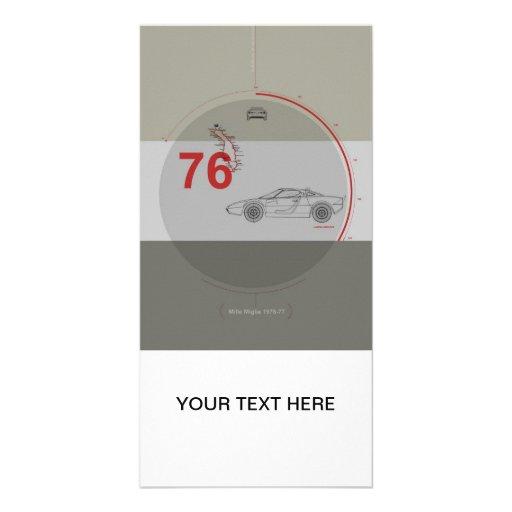 Lancia Stratos Customized Photo Card