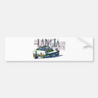 Lancia Stratos HF Bumper Sticker