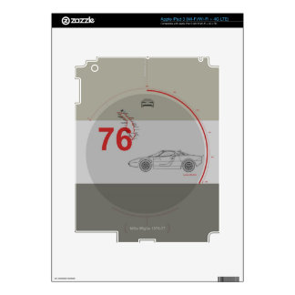 Lancia Stratos iPad 3 Decal