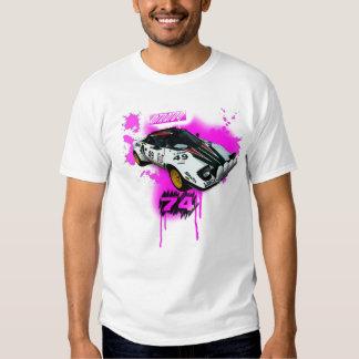 lancia stratos. rally t shirt