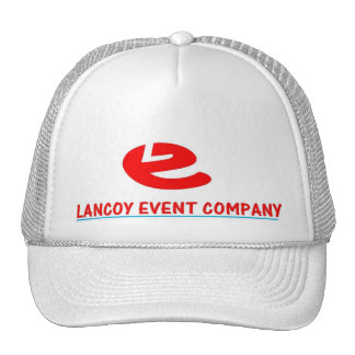 LANCOY EVENT COMPANY NEW LOGO FOR 2009 TRUCKER HAT