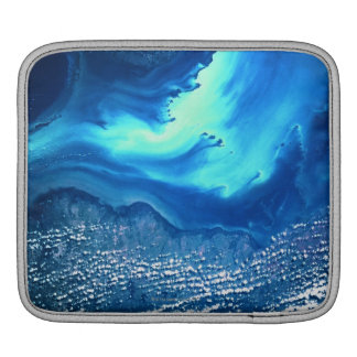 Land and Sea from Space 2 Sleeve For iPads