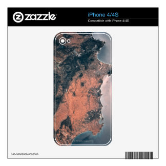Land and Sea from Space 3 iPhone 4 Skins