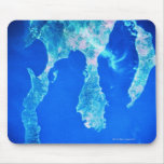 Land and Sea from Space Mouse Pad