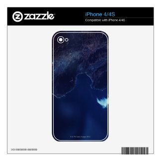 Land and Water from Satellite iPhone 4S Decal