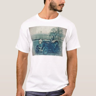 Land Army Woman Driving a Tractor T-Shirt