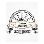 land claim oregon letterhead