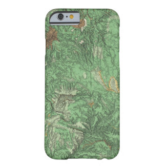 Land Classification Map of California Barely There iPhone 6 Case
