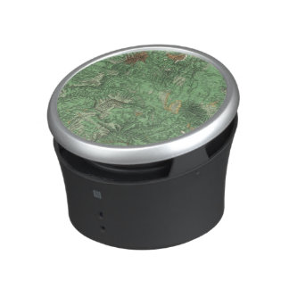 Land Classification Map of California Bluetooth Speaker