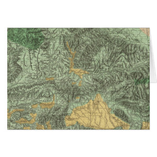 Land Classification Map of California Card
