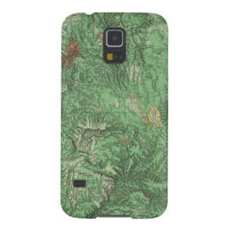 Land Classification Map of California Galaxy S5 Cover