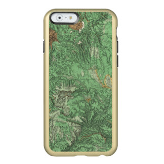 Land Classification Map of California Incipio Feather Shine iPhone 6 Case
