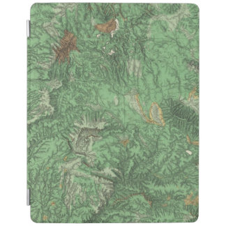 Land Classification Map of California iPad Smart Cover