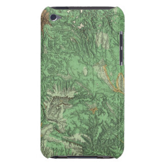 Land Classification Map of California iPod Touch Cover