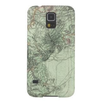 Land Classification Map of Central New Mexico Galaxy S5 Case