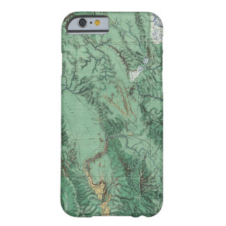 Land Classification Map of Idaho Barely There iPhone 6 Case