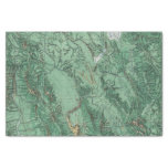 "Land Classification Map of Idaho 10"" X 15"" Tissue Paper"
