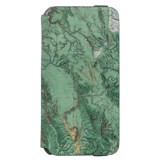Land Classification Map of Idaho iPhone 6/6s Wallet Case