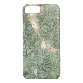 Land Classification Map of Nevada iPhone 7 Case