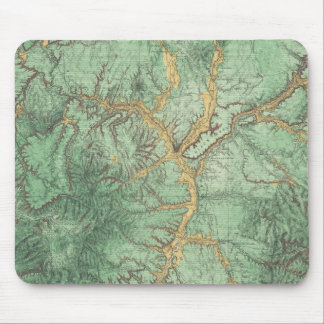 Land Classification Map of New Mexico 2 Mouse Pad