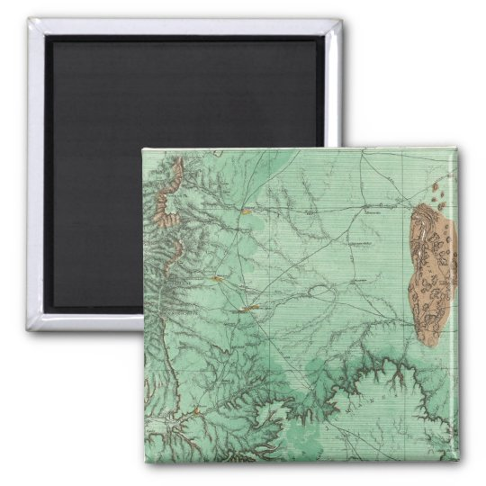 Land Classification Map of New Mexico Magnet