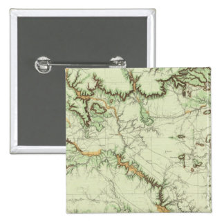 Land Classification Map of New Mexico Pinback Button