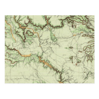 Land Classification Map of New Mexico Postcard