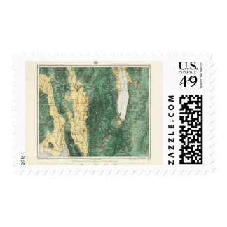 Land Classification Map of North Eastern Utah Stamps