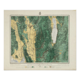 Land Classification Map of North Eastern Utah Poster