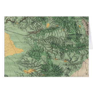 Land Classification Map of Southern California Card