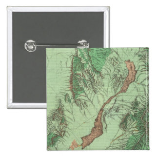 Land Classification Map of Southwestern New Mexico Pinback Button
