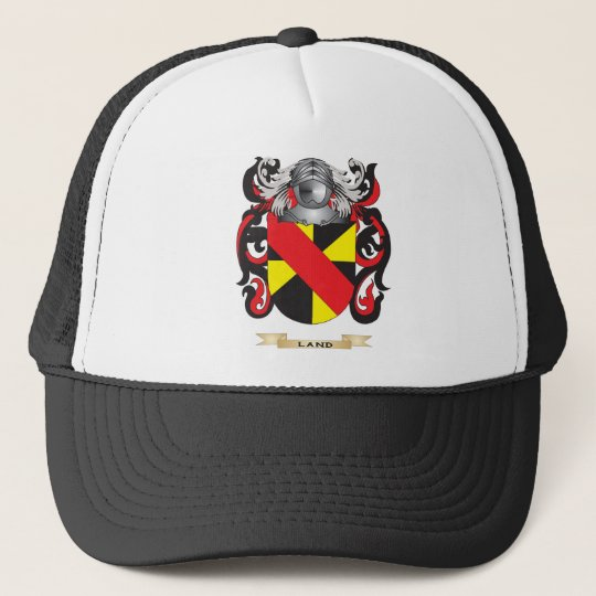 Land Coat of Arms (Family Crest) Trucker Hat