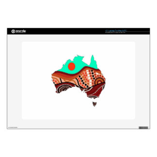 "LAND DOWN UNDER 15"" LAPTOP DECAL"