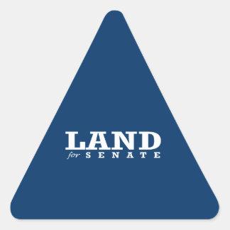 LAND FOR SENATE 2014 STICKER