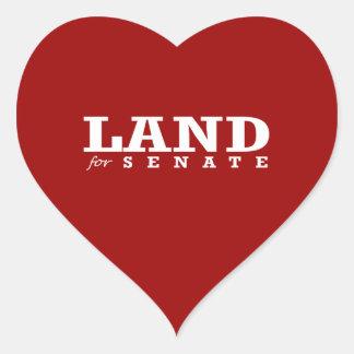 LAND FOR SENATE 2014 STICKERS