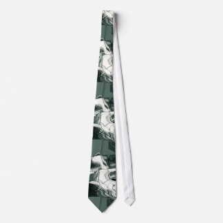 Land Formations Abstract Art Tie
