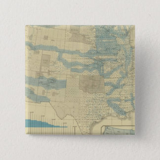 Land grants and railways pinback button