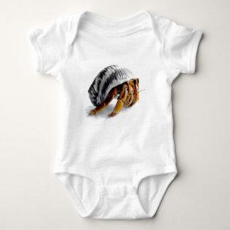 land hermit crab baby bodysuit