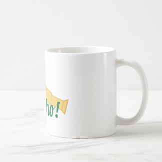 Land Ho Classic White Coffee Mug