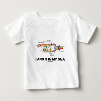 Land Is In My DNA (DNA Replication) Baby T-Shirt
