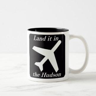 Land it in the Hudson Coffee Mugs