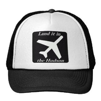 Land it in the Hudson Trucker Hat