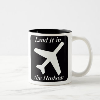 Land it in the Hudson Two-Tone Coffee Mug
