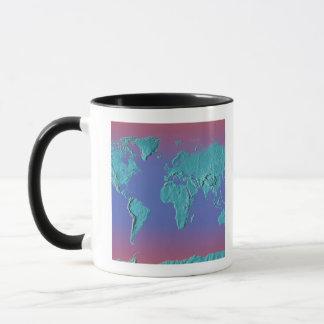 Land Mass Map Mug